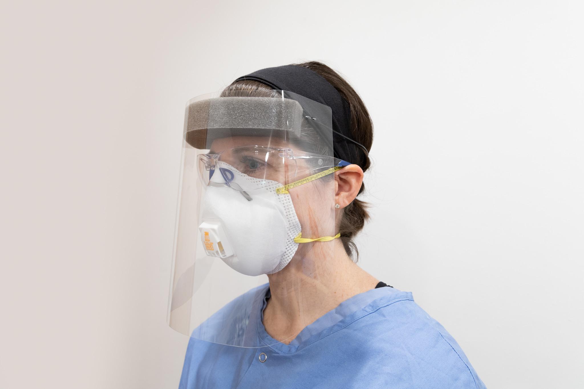 Spartek QRS Generation 1 Single-Use Disposable Face Shield